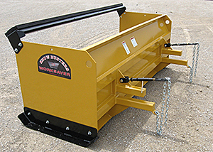 Clamp-on bucket mount 36-Series snow pushers.