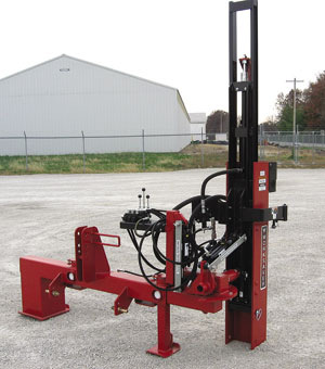 HPD-16 and Q-Series SWO Offset 3-pt Hydraulic post drivers.