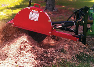 Photo Close-up of Stump Grinder