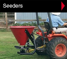 Seeders and spreaders.