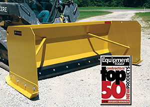 36-Series Snow Pushers named to Equipment Today's Contractor's Top 50 New Products for 2017.