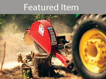 PTO Powered Stump Grinders from Worksaver