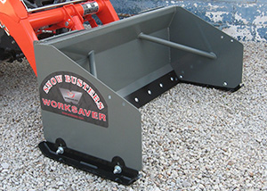 Snow Pushers for Skid Steers and Tractors
