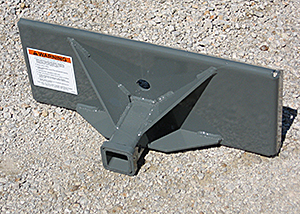 Mini Skid Steer Quick Attach Dimensions