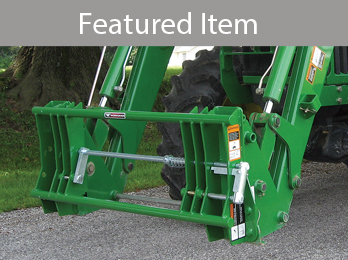 Adapter brackets from Worksaver boost your loader's productivity.