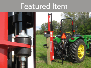 Hydraulic Post Drivers from Worksaver