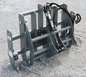 Mini skid steer / Compact Tool Carrier Grapple.