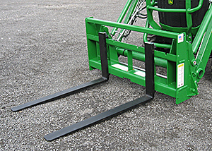 Sub-compact pallet forks.
