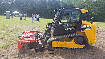 Hands-on participation and demonstration of fencing, hay, land management and skid steer equipment were given.