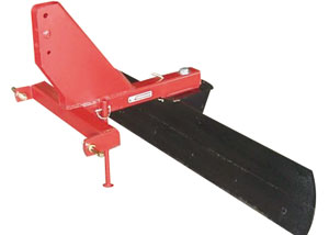 RB Series rear tractor blade, ideal for small acreage owner.