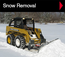 Snow removal.